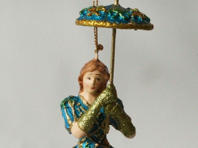 Dama z parasolką